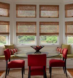 Tradewinds Natural Shades Custom Roman Window Treatments Coverings