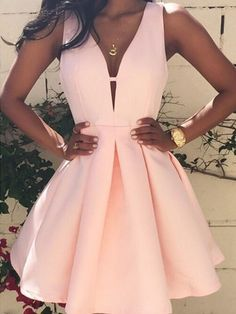 Prom Dresses For Teens, Homecoming Dresses Prom Dress,Prom Gown,Pink Homecoming Dress,Short Homecoming Dresses Dresses Modest Pretty Dresses, Women's Dresses, Beautiful Dresses, Summer Dresses, Dress Outfits, Mini Dresses, Elegant Dresses, Satin Dresses, Summer Outfits