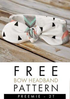 Baby Headband Tutorial, Headband Pattern, Diy Headband, Bow Tutorial, Flower Tutorial, Make Baby Headbands, Sewing Headbands, Baby Bows, Baby Turban