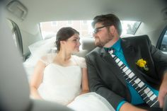 Weddings Back Seat Photo