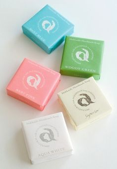 Japanese handmade soap packaging
