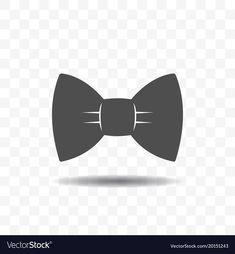 Bow tie icon design concept vector image on VectorStock Airplane Icon, Icon Design, Adobe Illustrator, Vector Free, Bows, Concept, Tie, Flat, Simple