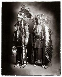 Ute Indians in Dance Dress