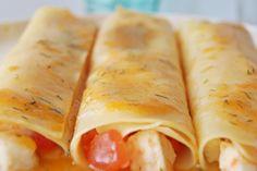 El bazar de los sabores: Canelones fríos de tomate confitado con mozzarella