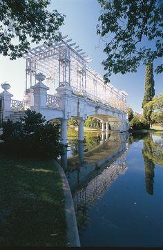 Bosque en Palermo (El Rosedal), Buenos Aires. ARgentina