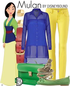 DisneyBound is meant to be inspiration for you to pull together your own outfits which work for your body and wallet whether from your closet or local mall. As to Disney artwork/properties: ©Disney Disney Themed Outfits, Disney Bound Outfits, Disney Dresses, Disney Clothes, Disney Inspired Makeup, Disney Inspired Fashion, Jane Porter, Casual Cosplay, Cosplay Outfits