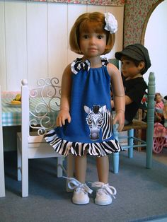 Dress to fit 18 slim dolls like Kidz 'n' by BrigittesDollFashion