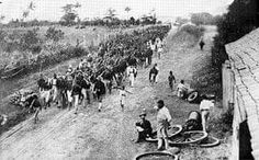US Army enters through Guánica in 1898 to take possesion of the Archipelago of Puerto Rico according to the terms of the Treaty of Paris that ended the Spanish-American War.