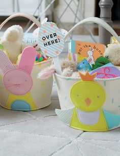 Our Easter baskets f