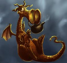 Errol the Dragon by Alda-Rana.deviantart.com on @deviantART