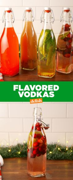 Be Amazed With These Five Recipes Using Dill Pickle Vodka Best Flavored Vodka, Flavored Alcohol, Homemade Alcohol, Homemade Liquor, Infused Vodka, Best Christmas Punch Recipe, Cranberry Juice Benefits, Pear Vodka, Vodka Tonic