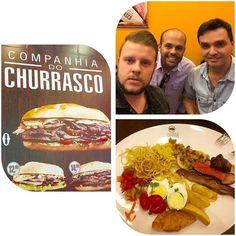 Hoje almoço foi na @companhiadochurrasco do meu amigo #Max na cia do querido amigo @r_vilela ... Almoço excelente cardápio variado carnes especiais e um@sanduíche incrível... Venha pra #ciadoChurrasco no @brasilparkshopping ... by lourenzobrito http://ift.tt/1TxtmPn
