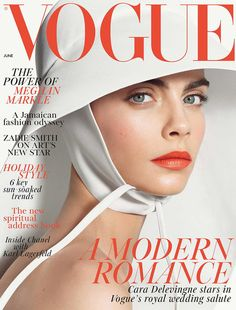 Cara Delevingne is the June 2018 Cover star of Vogue UK magazine. On the cover which was shot by Steven Meisel, Cara is wearing a NOEL . Vogue Uk, Vogue Fashion, Look Fashion, Fashion Models, Teen Vogue, Steven Meisel, Cara Delevingne, Chanel Resort, Vogue Magazine Covers