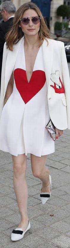 Olivia Palermo Front Row Schiaparelli Fall 2017 Couture #PFW