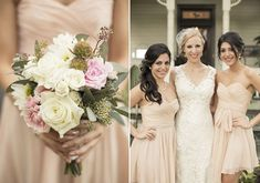 Pastelle bridesmaid dresses |  photos by Mustard Seed Photography | 100 Layer Cake