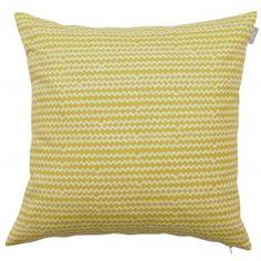Spira Mello Yellow Cushion -HUS & HEM- Scandinavian Design For The House And Home