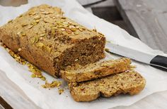 Nut and Seed Bread - Gluten Free. Paleo, clean eating, gluten free, dairy free