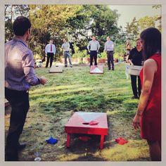 Wedding games Wedding Reception Games, Our Wedding, Wedding Stuff, Wedding Ideas, All You Need Is Love, Big Day, Dolores Park, Wedding Planning, Bag Toss