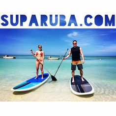 Serene Paddleboarding only at Stand Up Paddle Aruba!     www.SUPARUBA.com