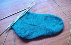 Curso de tejido a mano: Medias tejidas a mano con 5 agujas