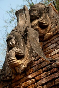 Shwe Inn Thein Pagoda, Inle Lake, Myanmar