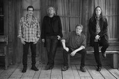 The Eagles, 2013. Glenn Frey, Joe Walsh, Don Henley, Timothy B. Schmit.  The History of The Eagles Tour.