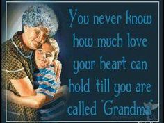 Love being a Grandma!