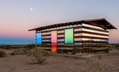 Lucid Stead Installation by Phillip K. Smith