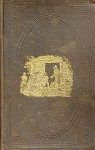 First Edition of Uncle Tom's Cabin.  Written by Harriet Beecher Stowe, a middle aged white women, it chronicled the evils of slavery in 1853.