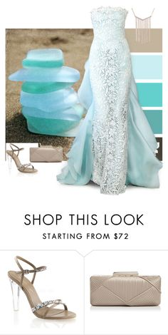"""Seaglass"" by alara-cary ❤ liked on Polyvore featuring Sondra Roberts and Oscar de la Renta"