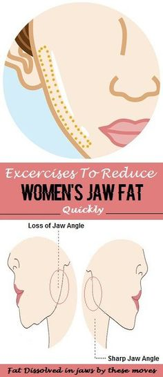 8 Effective Facial Exercises To Reduce Jaw Fat reduce weight double chin Facial Yoga Exercises, Jaw Exercises, Yoga Facial, Face Yoga, Facial Massage, Fitness Motivation, Fitness Tips, Reduce Double Chin, Reduce Weight