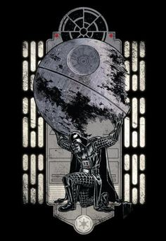 vader has the weight of the death star on his conscious