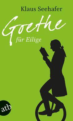 """In """"Goethe für Eilige"""" präsentiert uns Klaus Seehafer die Nacherzählungen der großen Dramen und Romane, der Erzählungen und autobiographischen Bücher Goethes. Wer möchte nicht gern mitreden, wenn es heißt: """"Schon Goethe sagte ...""""? Mehr zum Buch unter http://www.aufbau-verlag.de/index.php/goethe-fur-eilige.html #grünewoche #aufbau_taschenbuch #goethe #klassiker"""