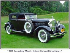 1931 Duesenberg J 4 Door Convertible - (Duesenberg Automobile & Motors Company, Inc. Auburn, Indiana,1913-1937)