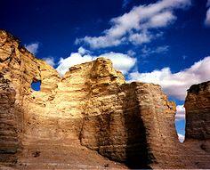 Monument Rock, Kansas...yeah, Kansas