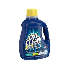 OxiClean HD Sparkling Fresh Scent Liquid Laundry Detergent, 100.5 fl... ❤ liked on Polyvore featuring home, home improvement and cleaning