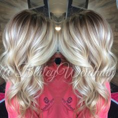 awesome Melted root with bright blonde baliage. In SC? Make an appointment with me!... by http://www.best-haircuts-hairstyles.xyz/