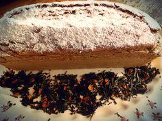 Plum cake senza burro al tè aromatizzato