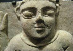 Sabean Stone Stela Depicting a Woman - Origin: Yemen Circa: 200 BC to 200 AD Dimensions: high x wide Collection: Biblical Medium: Stone Biblical Art, Woman, History, Portrait, Stone, Medium, Antiques, Gallery, Collection