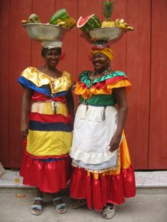 Welcome locals in Cartagena, Colombia