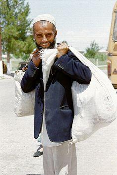 On his way to market - TAJIKISTAN