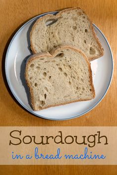 It's taken me weeks of experiments to figure out the art of making decent sourdough in a bread machine. This seems to be the trick!