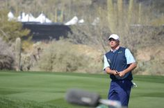 Bo VanPelt out on the course at the 2013 Accenture Match Play Championship in Marana, AZ