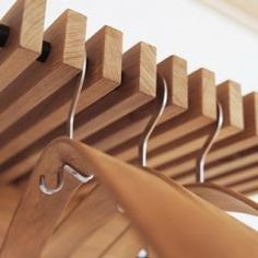 modern clothes racks by HORNE