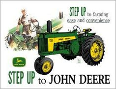 """Pin 6. John Deere's famous positioning statement, """"Nothing runs like a Deere,"""""""