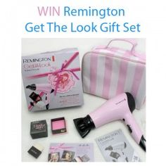 Win Remington Get The Look Gift Set ^_^ http://www.pintalabios.info/en/fashion-giveaways/view/en/3508 #International #HairDresser #bbloggers #Giweaway