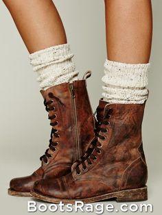 Dark brown combat boots- $35.99 5-11 7-11 7 1/2-15 8-15 8 1/2-15 9 ...