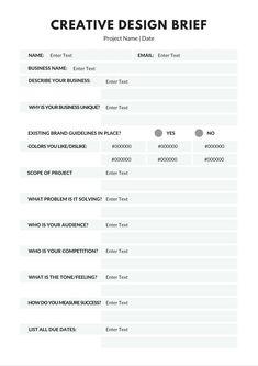 DC Design - Client Questionnaire | Eleven One Interiors ...