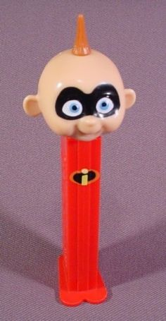 Pez Disney The Incredibles Jack Jack Baby, Pez Candy Dispenser