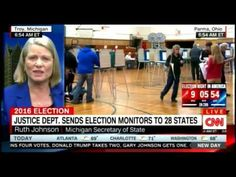 Michigan Secretary of State on Justice DEPT  Sends Election Monitors to ...